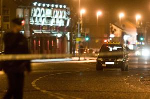 The Strand Road in Derry was cordoned off during a security alert