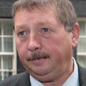 Finance Minister Sammy Wilson