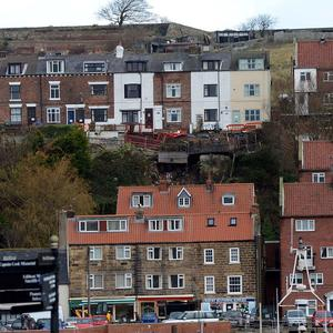 A separate landslip left a terrace of five houses needing to be demolished in Whitby