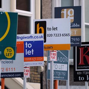Consumers expect house prices to fall over the next six months, a survey found
