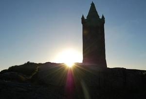 Scrabo Tower in the evening. Picture by Karla Pearce