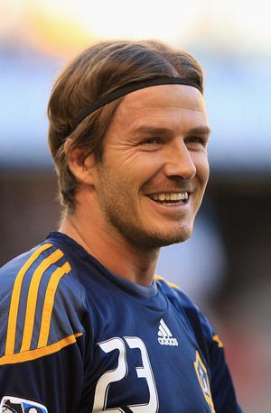 MELBOURNE, AUSTRALIA - DECEMBER 06:  David Beckham of the Galaxy warms up before the friendly match between the Melbourne Victory and LA Galaxy at Etihad Stadium on December 6, 2011 in Melbourne, Australia.  (Photo by Quinn Rooney/Getty Images)