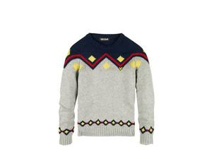 <b>8. Lyle & Scott, £125, lyleandscott.co.uk</b>  Fair isle knits are looking dated now after last year's overkill, so try something a little different, such as this Aztec-inspired design from Lyle & Scott. Made from the softest cotton, it's a sure-fire way to add a jolt of colour to your outfit.