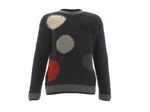<b>10. James Long for Topman, £100, topman.com</b>  Designer James Long has always had a bold and directional take on menswear, which ensures he is a firm favourite when it comes to collaborations with Topman. It's easy to see why with this jazzy polka-dot knit. Not to be worn by shrinking violets, you should let the jumper speak for itself; layer over a navy T-shirt and wear with jeans.