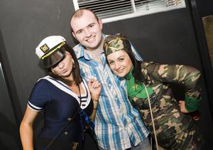 Ollies Halloween Party pictured Aishlene O'Neill, Chrissy McMahon and Alanna Burns
