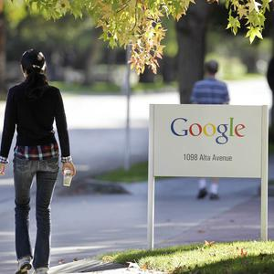 Workers at Google are to get a 10 per cent pay rise next year (AP)
