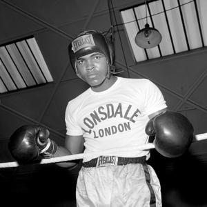 20/5/1963: American boxer Muhammad Ali (formerly Cassius Clay).