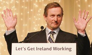 Enda Kenny's Fine Gael party reaped the benefits of electoral groundwork