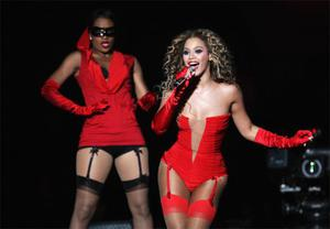 Singer Beyonce is the celebrity with the best body in the eyes of British women.