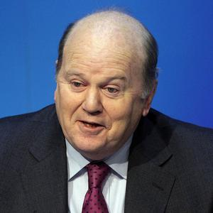 Finance Minister Michael Noonan said the financial services sector is a vital source of jobs for the country