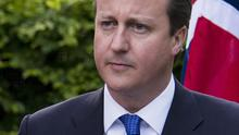 David Cameron has called for quick action to deal with the euro crisis (AP)