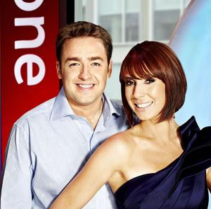 Alex Jones and Jason Manford are presenting The One Show