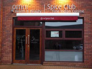 QUIRKY: The Spice Club entrance is slightly confusing