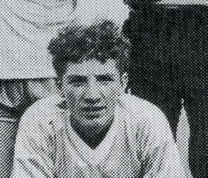 A   14 year old Brendan Rodgers  who played for Ballymena United (Northern Ireland) in the 1986 Milk Cup. PICTURE MARK JAMIESON.