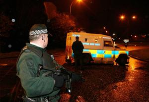 The shooting is understood to have happened near Lismore High School in Craigavon