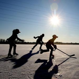 Warmer winters could see a decline in outdoor ice skating activities in Canada