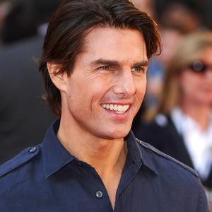 Tom Cruise has given fans a sneak peak of his Rock Of Ages character