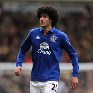 Marouane Fellaini could be lured away from Everton by the prospect of European football