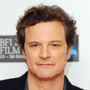 Chatting on a mobile phone in front of Westminster Cathedral, Colin Firth went almost unnoticed