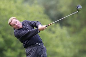 Tottenham Hotspur manager Harry Redknapp during the first round of The JP McManus Invitational Pro-Am event at the Adare Manor Hotel and Golf Resort on July 5, 2010 in Limerick