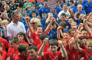 Foyle Cup Opening Parade.  July 2010.