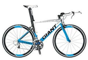 ROAD <b>Giant Trinity 0</b><br/>  An entry-level ride for the keener time-triallist or triathlete. 'The baby brother of the extraordinary Trinity Advanced is still a fully fledged speed machine,' Tony says, adding, 'Zero is plenty slippery through the air.'  <b>Where</b> www.giant-bicycles.com  <b>How much</b> £1,399