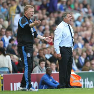 Managers Sam Allardyce, right, and David Moyes, left, will appeal the respective dismissals
