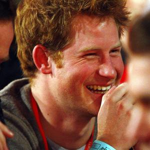 Prince Harry in the crowd during the Ladbrokes.com World Darts Championships at Alexandra Palace