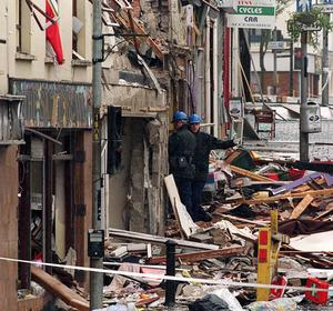 The bomb attack was the worst ever atrocity of Northern Ireland's decades of violence.