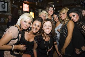 Christmas Social Pics -Taphouse pictured the staff of Olivias Hair and Beuaty