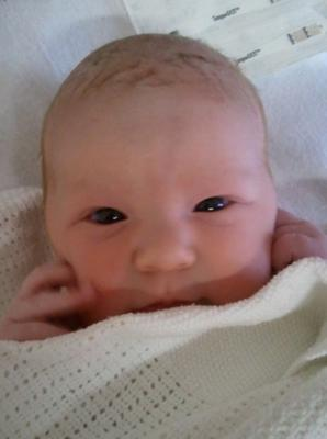 Emma Rose McCord 20/07/12 born at Royal Victoria Hospital. Little sister to Lucas McCord. Parents are Charlene and Gary from East Belfast.