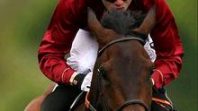 The filly Sariska dug in and refused to take part in the Yorkshire Oaks