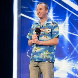 Andy Whyment's character Kirk Sutherland tries out on X Factor