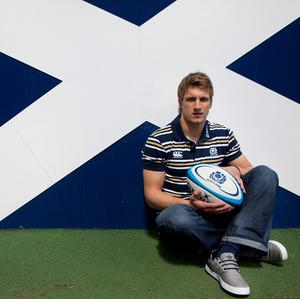 Tom Brown admits he is still on cloud nine following his Scotland debut