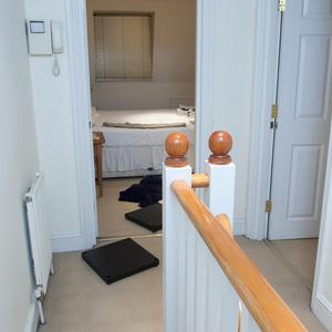 Photos of the interior of Gareth Willaims' flat on Alderney Street, London, were shown to the inquest hearing into his death (Met Police/PA)