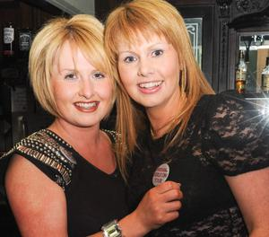Valerie McAlpine and Heather Canning in The King's Head