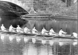 M.C.B. Rowing Club, 1969.