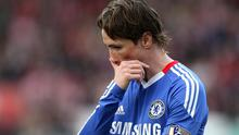 Fernando Torres has yet to score since signing for Chelsea