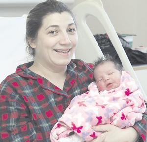 "Joanne Bickerstaff with her daughter Molly <p><b>To send us your Baby Pics <a href=""http://www.belfasttelegraph.co.uk/usersubmission/the-belfast-telegraph-wants-to-hear-from-you-13927437.html"" title=""Click here to send your pics to Belfast Telegraph"">Click here</a> </a></p></b>"