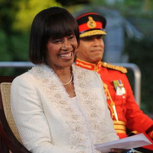 Jamaica's prime minister, Portia Simpson Miller, pledged to make the island a republic (AP)