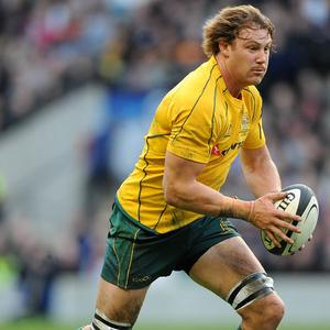 Scott Higginbotham kick-started Australia's comeback with a try in the 54th minute