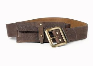 <b>Hobbs NW3</b>: There's something of the gamekeeper about this well-worn looking purse-belt. Perfect for the tweedy, country look that's around this autumn, especially over a military coat. £59, www.hobbs.co.uk