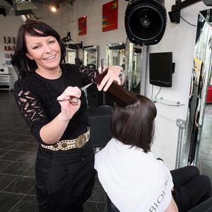 Hairdresser Michelle Maxwell, from Melbourne, says she feels safe living in Belfast