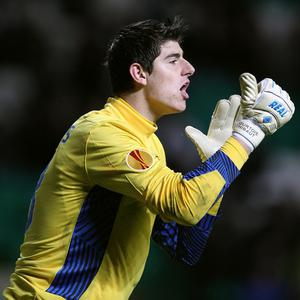 Thibaut Courtois is set to return to Atletico Madrid on loan