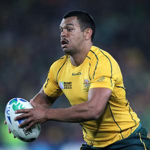 Kurtley Beale is in Australia's side to face Wales in the third Test