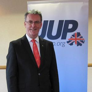 Mike Nesbitt, the former television presenter, after he was elected leader of the Ulster Unionist Party