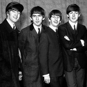 The Beatles pictured in February 1954, from left, John Lennon, George Harrison, Ringo Starr and Paul McCartney