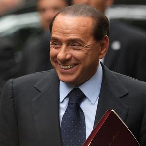 Italian premier Silvio Berlusconi says his justice minister could succeed him as the conservative party leader