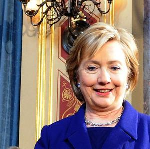 US Secretary of State Hillary Clinton is in Turkey for talks with Turkish officials as well as Syrian opposition figures