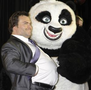 Kung Fu Panda 2, starring Jack Black, is a box office hit